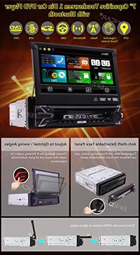 EINCAR Free Backup Capacitive Screen System Car Stereo DVD Support GPS