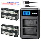 Kastar Battery Charger Sony NP-F330 NP-F550 NP-F570 BC-VM10