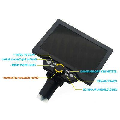 G1200 Inch Color Screen Large Base LCD Display E4S4