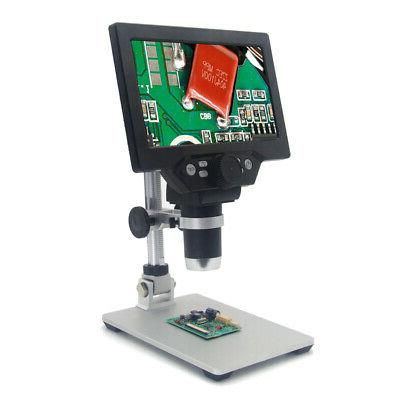 g1200 digital microscope 7 inch large color