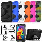 """Black Leather Case Cover Stand For Samsung Galaxy Tab 4 7.0"""""""