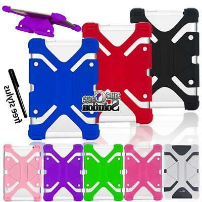 """Bumper Silicone Stand Cover Case For Various 7"""" 8"""" IRULU Tab"""