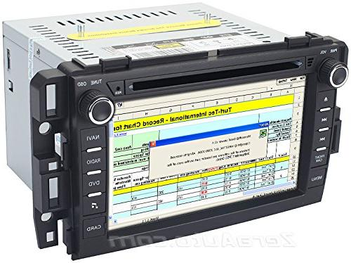 "Chevrolet Stereo DVD Player AV Receiver 7"" iPod FM USB SD"