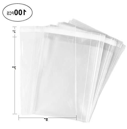 clear flat cello cellophane bags