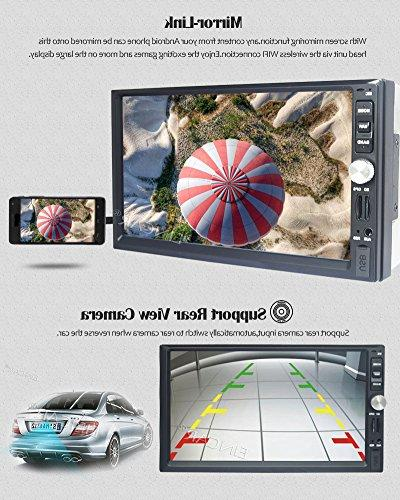 7 Inch Din Car Stereo CE Operation System support GPS Mirror-Link AM/FM
