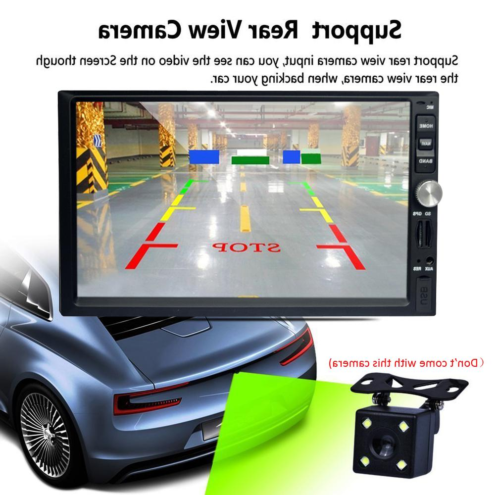 Double 2 Stereo Camera 7 Inch TouchScreen GPS USB