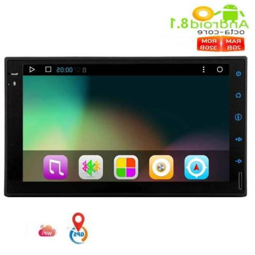 double 2din 7inch android 8 1 octa