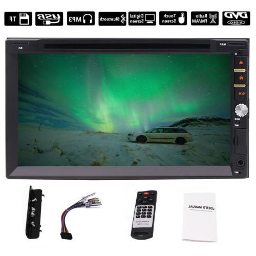 Double DIN Car Stereo Calling USB Video