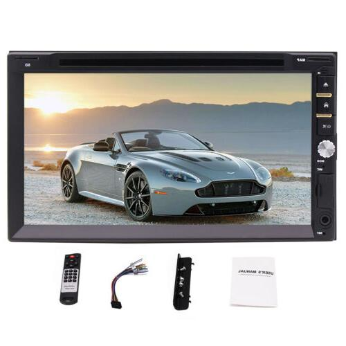 Double DIN Car Stereo Calling Video
