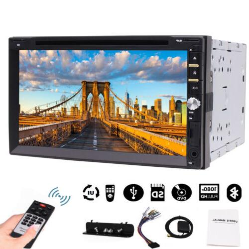 Double Car Stereo Capacitive Screen Language FM