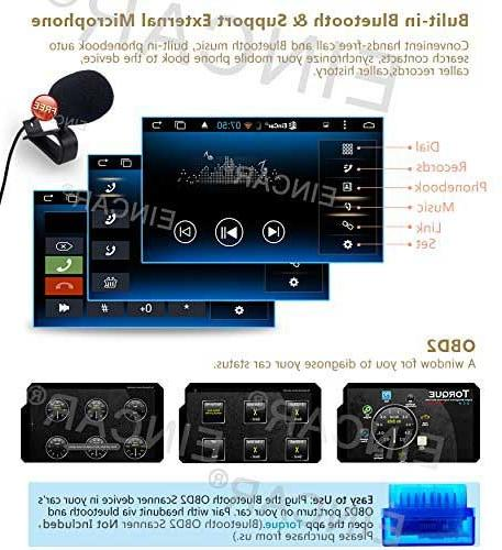 Double Din 6.0 with 7'' Full touch In Dash Navigation Headunit GPS Support Mic/WiFi with Front
