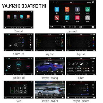B Double Din Stereo 7 Inch Touch Screen and 12LED Backup