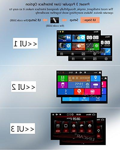 """EinCar 6.2"""" Double DIN Car Stereo Car Touch Screen Player In-dash Audio AM/FM Radio Bluetooth SD With Camera"""