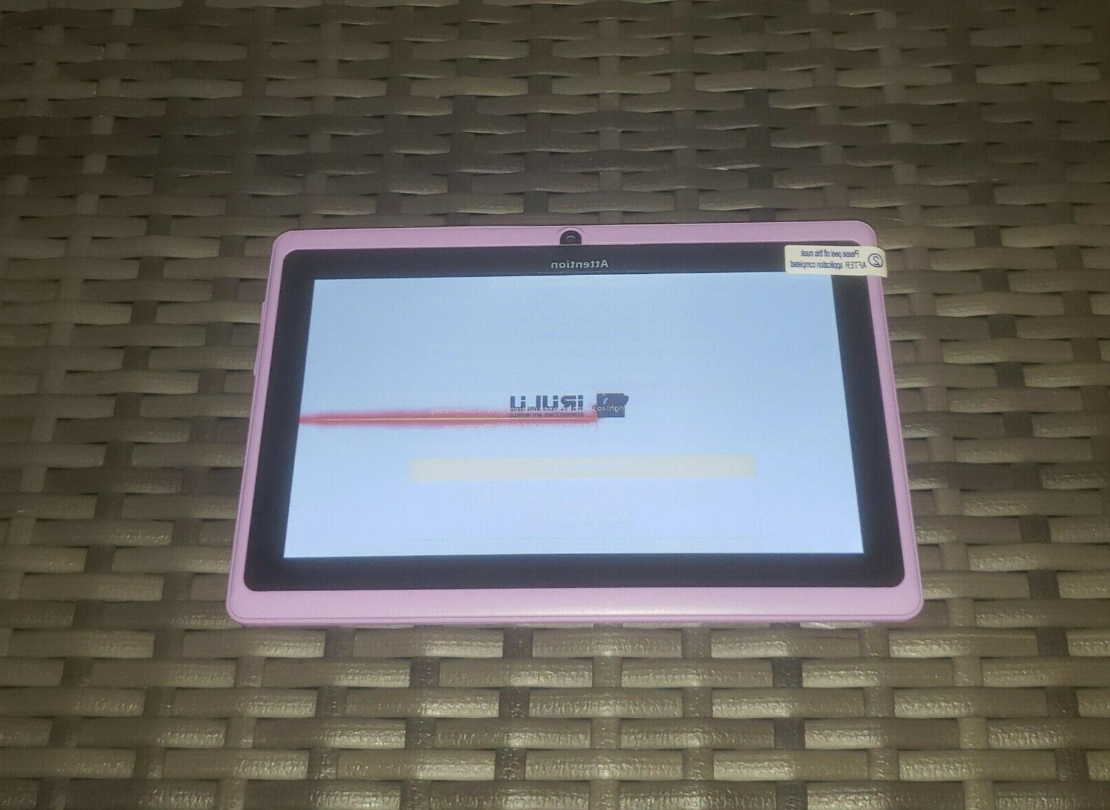 iRULU 7 Inch Android Tablet NEW