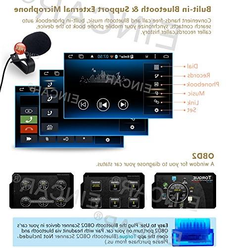 External Dual Cameras Include Stereo Double din GPS Player Multi-Touchscreen Head Unit