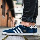 ADIDAS GAZELLE OG JEANS MENS BLUE SUEDE NEW SHOES HAMBURG BE