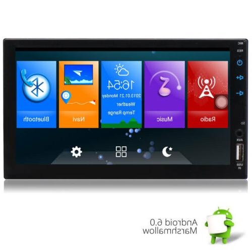 In-dash 7 Inch Double Car GPS