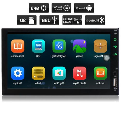 In-dash Android WIFI 7 Double Car GPS