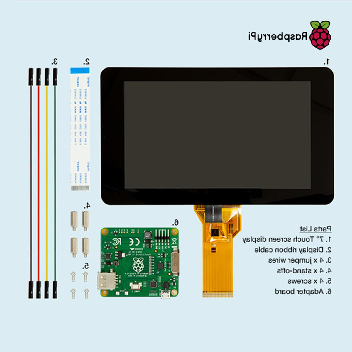 "7"" Inch Touch Raspberry Pi 3"
