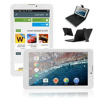 Indigi® 7in White Android 4.2 JB Tablet PC WiFi Luxury Le