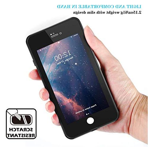 iPhone 7/8 Gnais Dirtproof IP68 Certified Waterproof Case with Protector for 7/iPhone 4.7