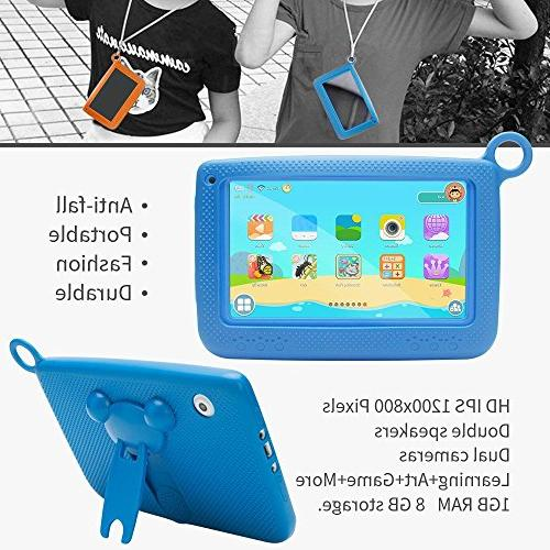 LLLtrade 7 inch Education 8GB, Kids Software Premium Game Apps,WiFi,Bluetooth