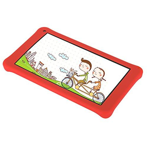 AOSON M753-S1 kids Tablet PC, Android 7.1 IPS Screen, 1GB RAM 16GB Kids APPS Iwawa Kidoz Dual Camera Bluetooth Supported, GMS Certificated