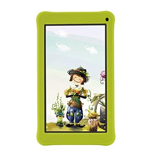 AOSON kids Tablet PC, 7.1 Quad-core Processor, IPS HD Touch Screen, 1GB Kids Dual Camera Supported, GMS