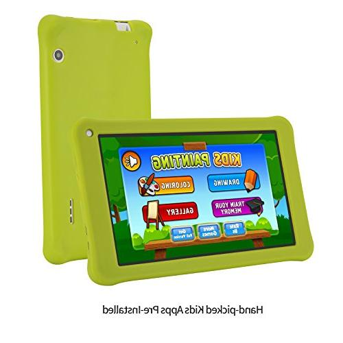 AOSON M753-S2 kids Tablet PC, Android 7.1 IPS HD Touch 1GB Storage, Kids Dual Camera
