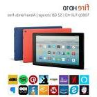 NEW Amazon Kindle Fire HD 10 hands free Alexa 32GB 7th Gen 2