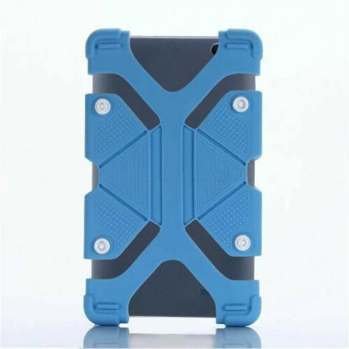 For ONN Tablet Silicone Rubber Kids Case