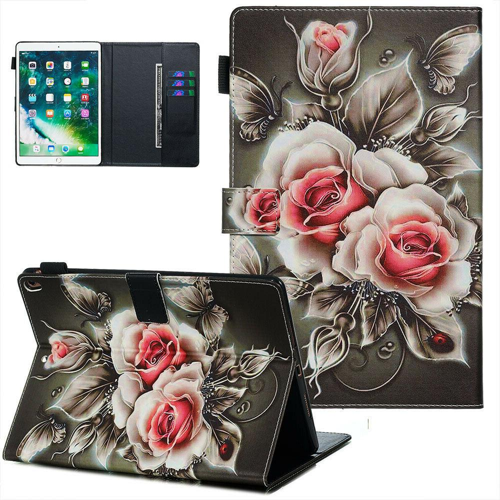 Pattern Leather Case For Kindle Fire 2019/2017/2015