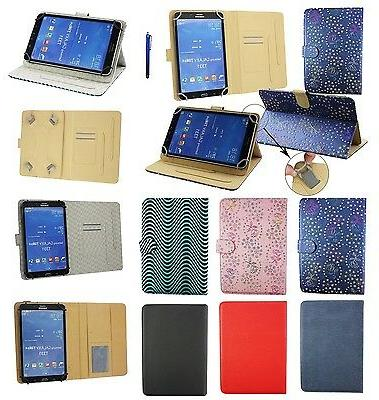 """Premium 7"""" - 8"""" Inch Pu Leather Multi Angle Wallet for Vario"""