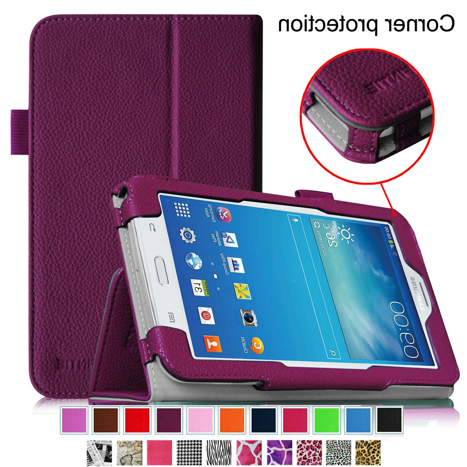 PU Leather Case Cover Stand For Samsung Galaxy Tab 3 Lite 7.