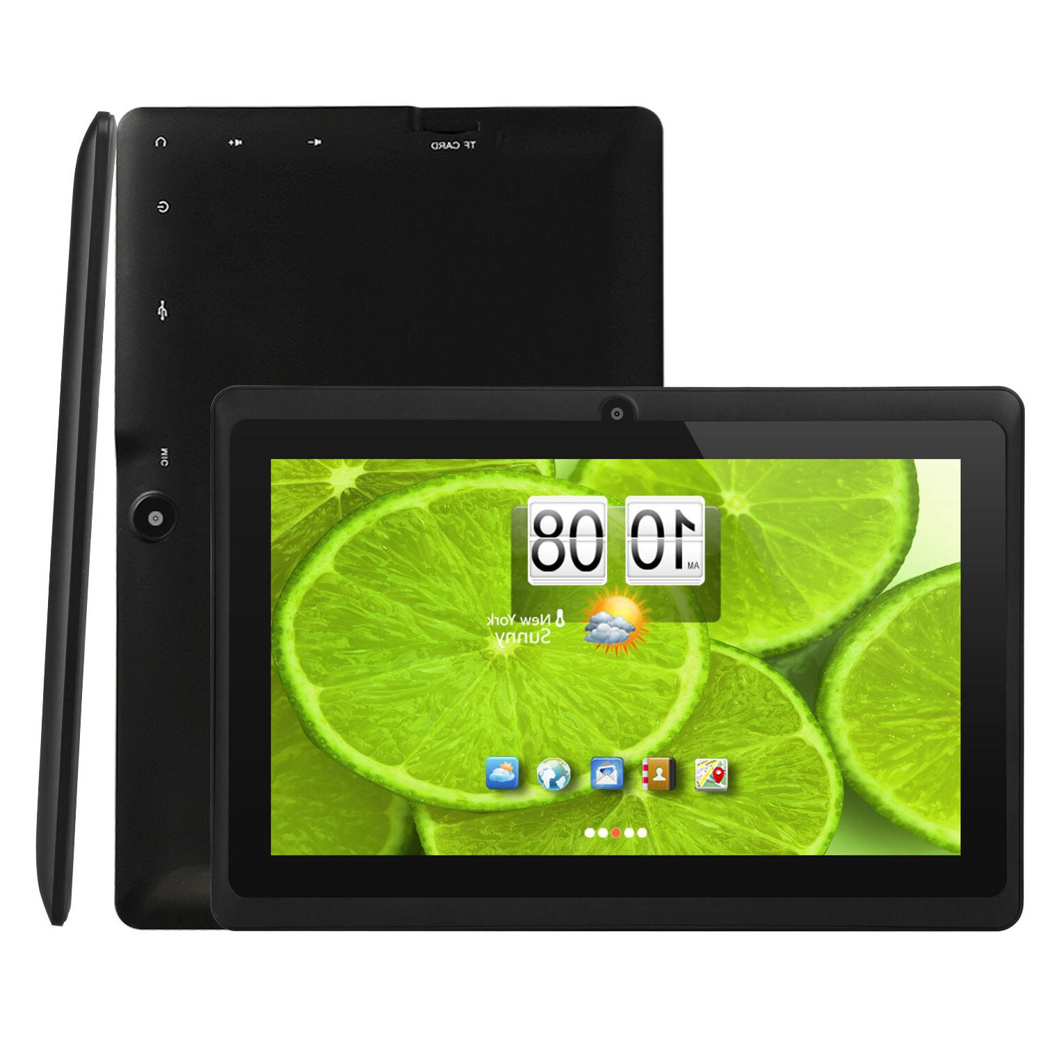 Quad Inch Android Tablet Camera & Keyboard