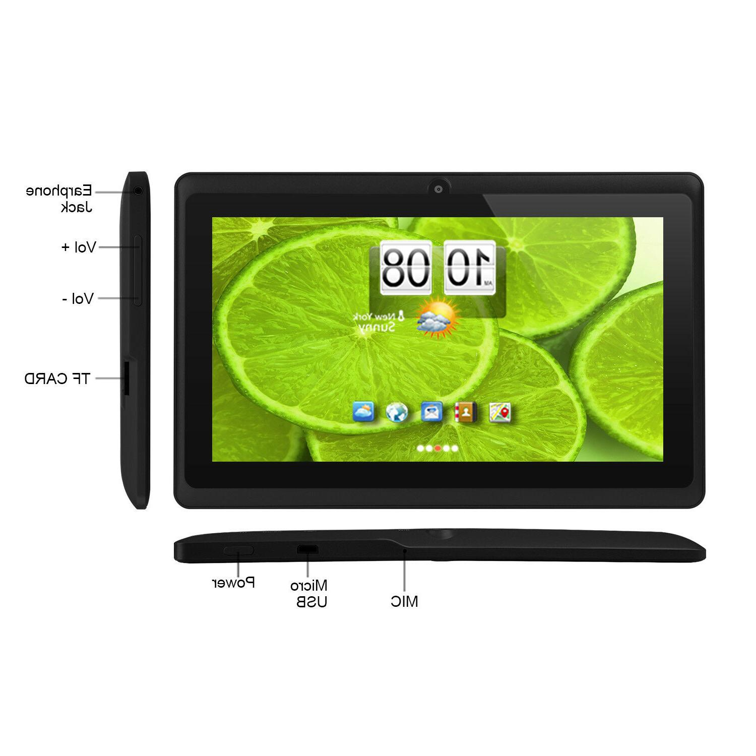 "Quad Core 7"" Android 4.4 Camera 8GB & Keyboard"