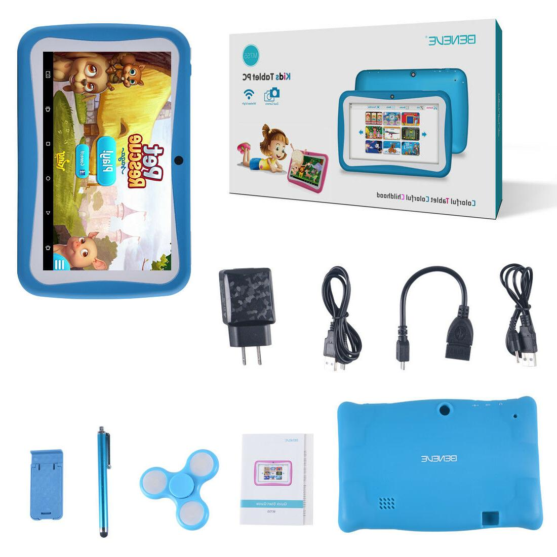 Quad Inch Kids Tablet PC Android 7.0 Dual Camera HD WiFi