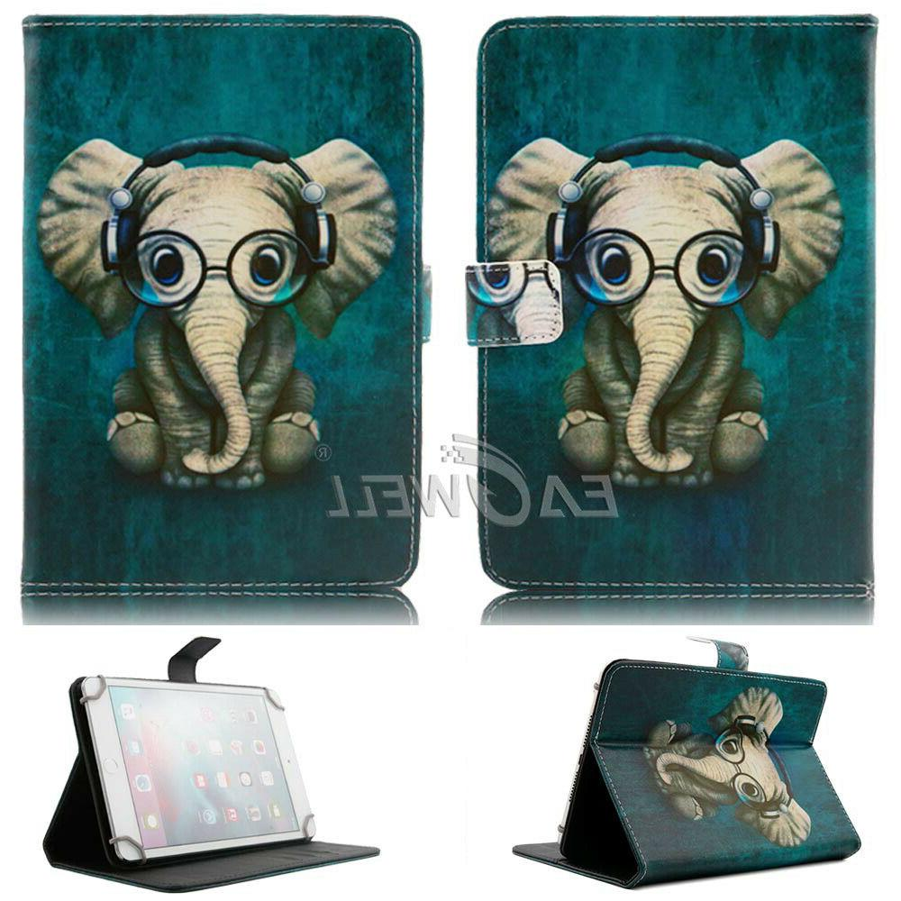 """For Kindle 7 9th Gen 7"""" Tablet Stand Leather Cover"""