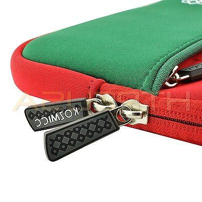 Red/Green Color Sleeve Universal Tablet Case