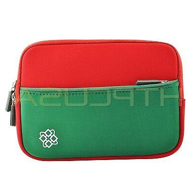 Red/Green Inch Color Gift Universal Tablet Case Cover