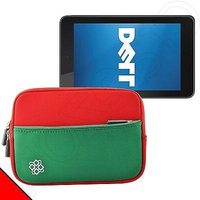 red green dell venue 7 inch android