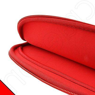 Kozmicc Red/Green 7 Sleeve Pocket Bag Cover