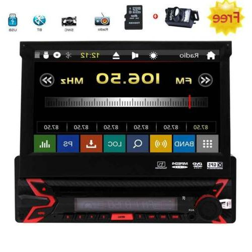 single 1 din car stereo with bluetooth