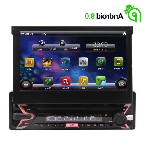 Single 1Din Bluetooth 7 inch Touchscreen Android Headunit