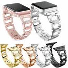 Stainless Bling Diamond Bracelet iWatch Band Strap Apple Wat