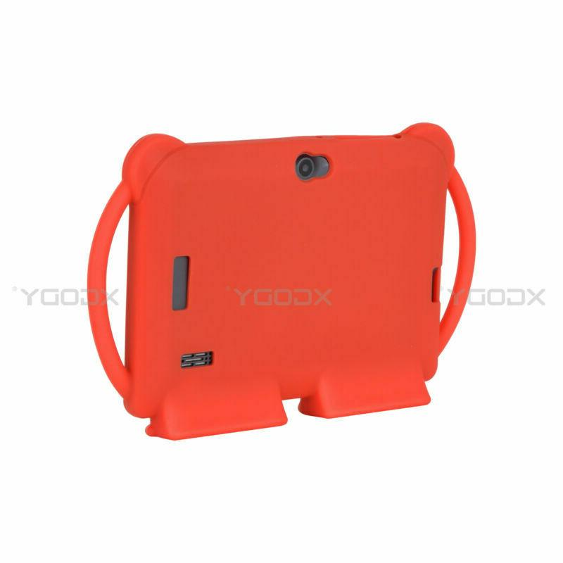 For 7 Inch Android PC Shockproof Silicone Case Kids