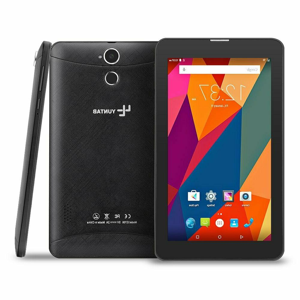 YUNTAB 7 inch 3G Unlocked Android Smartphone/Tablet, Support