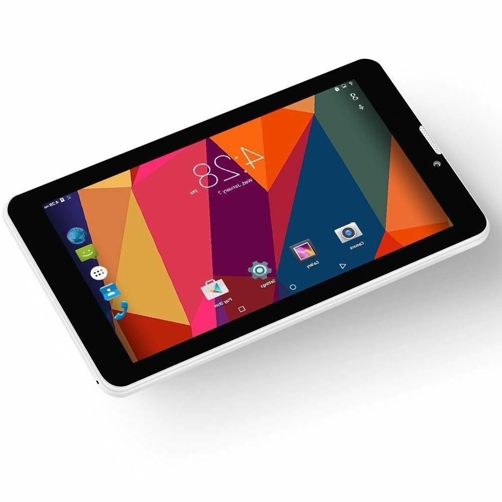 Tablet Android 3G Phone with Card 7-Inch PC Quad