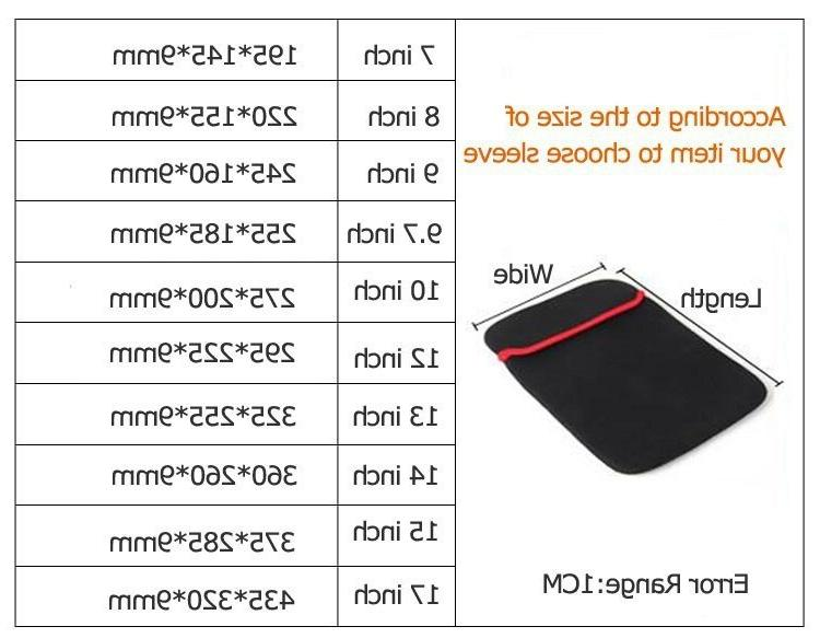 Tablet <font><b>7</b></font> / 8 9 9.<font><b>7</b></font> /10 /14 for <font><b>Computer</b></font> Bag