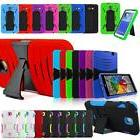 Tough Defender Armor Stand Box Hard Case For Alcatel LG Sams